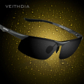VEITHDIA  Polarized Sun glasses men Aluminum Magnesium Night Vision Mirror Male Eyewear fishing Sunglasses Oculos For Men 6502