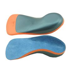 1 Pair Kids Shoe Pad Flatfoot Valgus Correction Half Cushion Insole Heel Pads Arch Support EVA Shockproof Orthopedic Children