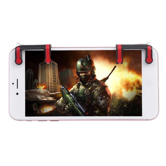 2Pcs Pubg Mobile Phone Game Joysticks Controller Games Accessories Touch Screen Game Button Shooting Games for Pubg STG FPS New