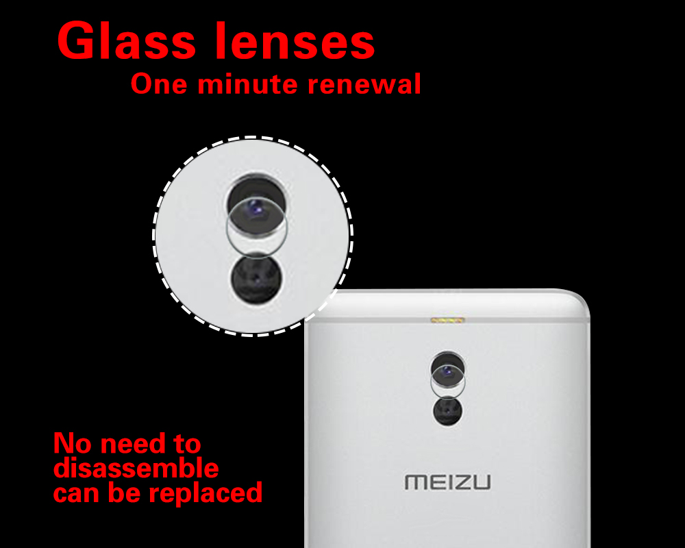 Ultra-thin Back Camera Lens Tempered Glass Film For <font><b>Meizu</b></font> <font><b>M6</b></font> <font><b>note</b></font> Meilan <font><b>note</b></font> 6 <font><b>M721L</b></font> Blue Charm <font><b>Note</b></font> 6 Camera Protector Film image