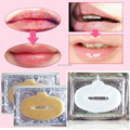 New Crystal Gold Powder Gel Collagen Lip Mask Masks Sheet Patch 10PCS