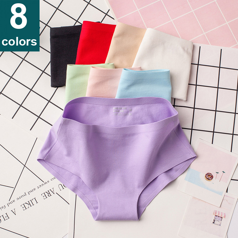 Cotton Seamless   Panties   Women Seamless   Panties   Cotton Underwear Women Soft Lingerie String Tanga Sexy   Panties   Briefs for Women