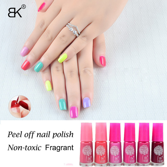 1pc 7ml Bk Fragrant Non toxic nail lacquer wholesale nail enamel ...