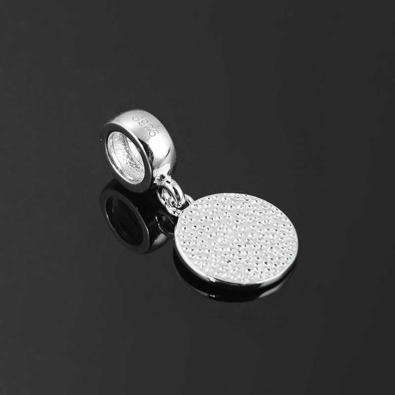 אותנטי 925 כסף סטרלינג 12 גלגל המזלות עיזים בסדר תליוני חרוזים Fit מקורי פנדורה קסם צמיד תכשיטי ביצוע 2018