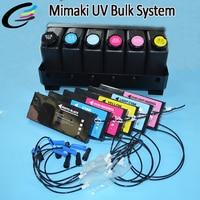 Mimaki UJF 3042 UJF 6042 UV LED Printer LH100 LF140 UV Bulk Ink System