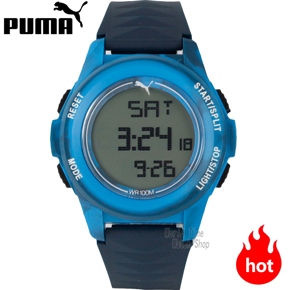 PUMA WATCH Vertical series of multi - functional electronic male watches PU911161005 PU911161006 PU911161003 PU911161002 14w x 32h vertical louver functional
