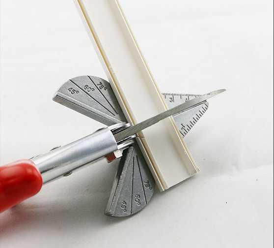 Pvc 120 Degree : Pvc trunking tube multi angle trim cutter to