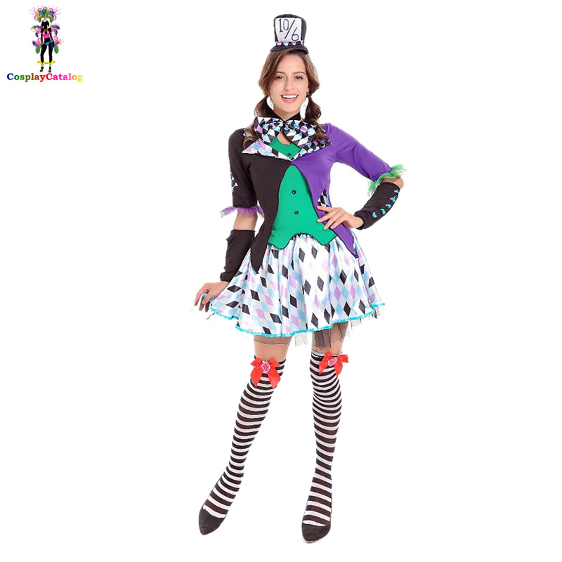 Plus Size French Maid Costume For Women Fashion Sexy Poker Dress Halloween Alice in Wonderland Cosplay Party Fancy Costumes