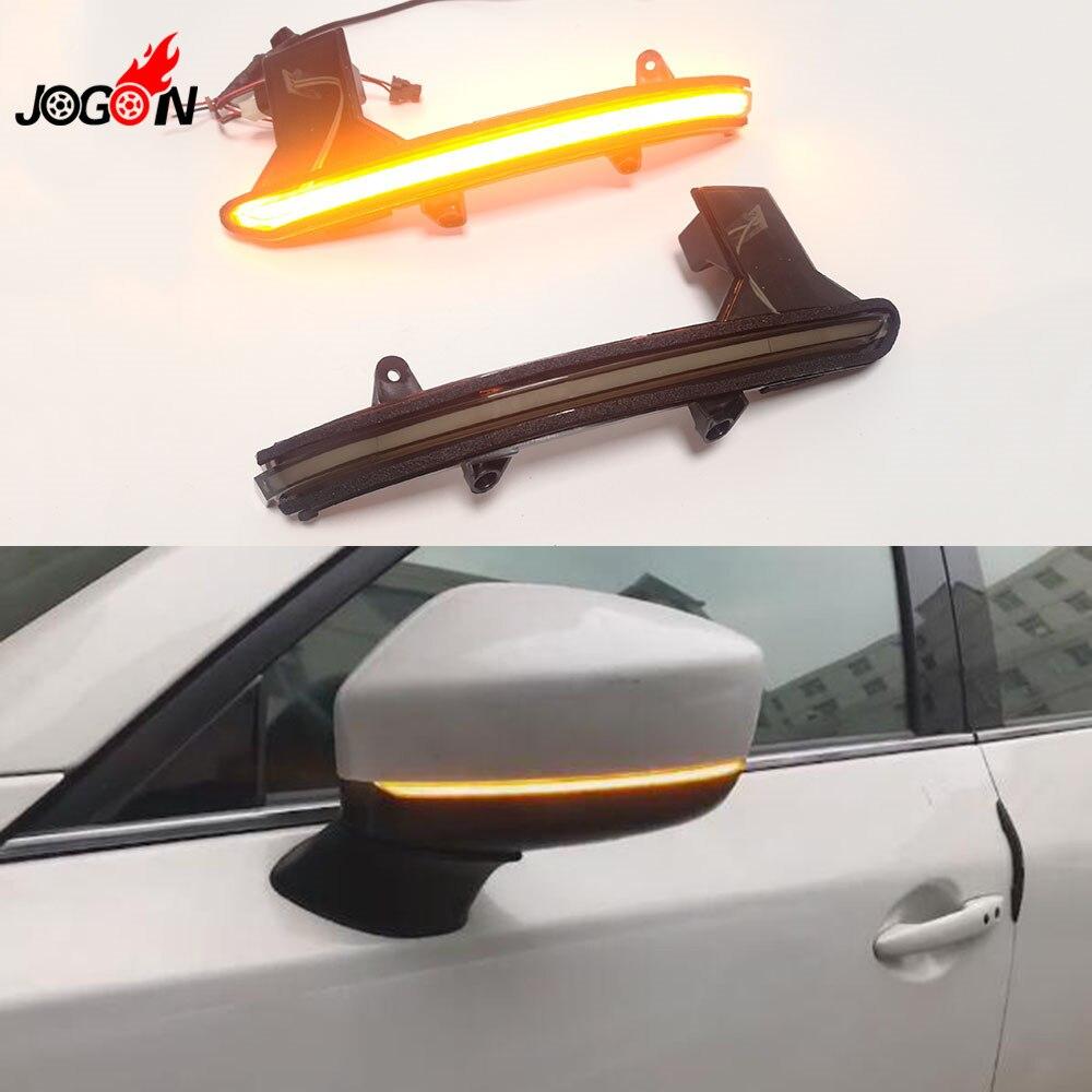 Smoked Black For Mazda CX 5 KF CX 8 CX 9 2017 2018 Dynamic Turn Signal
