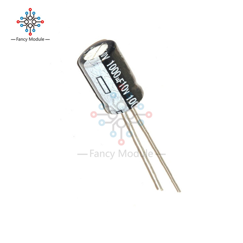 200 Pcs 1000uF 10V 105 C Radial Electrolytic Capacitor 8x12mm NEW