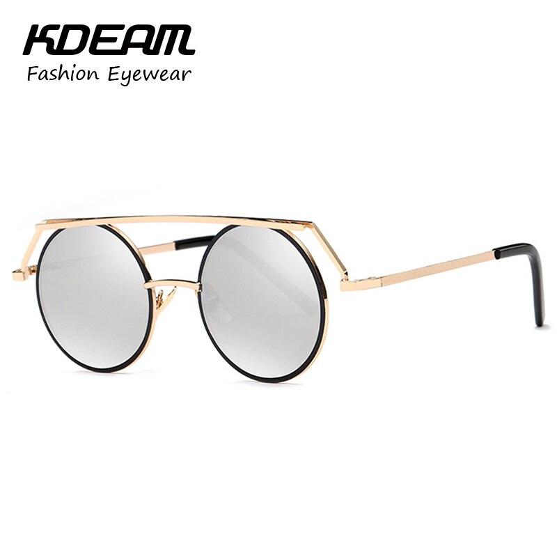 291b4bc485c Kdeam Headdress Vinatge Sunglasses Round For Women Men Steampunk Goggles  gafas de sol hombre Retro Glasses With Brand Box KD545-in Sunglasses from  Women s ...