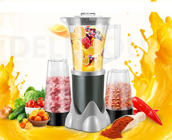Juicer Mill Micro Switch Milk shake for baby's supplementary soy DIY Mask 3 in 1 Cooking Machine Household Mixer