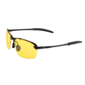 Image 2 - Outdoor Riding Sunglasses women Men Reflective Night vision Anti glare Goggles UV400 Car sunshade Plarization Sunglasses Women
