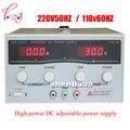 KPS3020D Цифровой Высокоточный Регулируемый источник питания постоянного тока 30В/20А для научных исследований лабораторный выключатель питани...