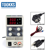 Precision Voltage Regulators KPS305D 30V 5A Laboratory DC Power Supply 0.1V 0.01A Double LED Display Switch DC Power Supply