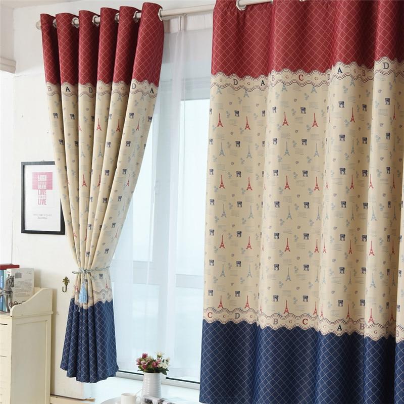 Compra cortinas de estilo vintage online al por mayor de for Cortinas vintage
