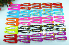 100 pcs/lot(50pairs) 7cm fashion assorted large princess Girl Dancing hair clip hairpins Hair Clips FOR KIDS! !HC-71
