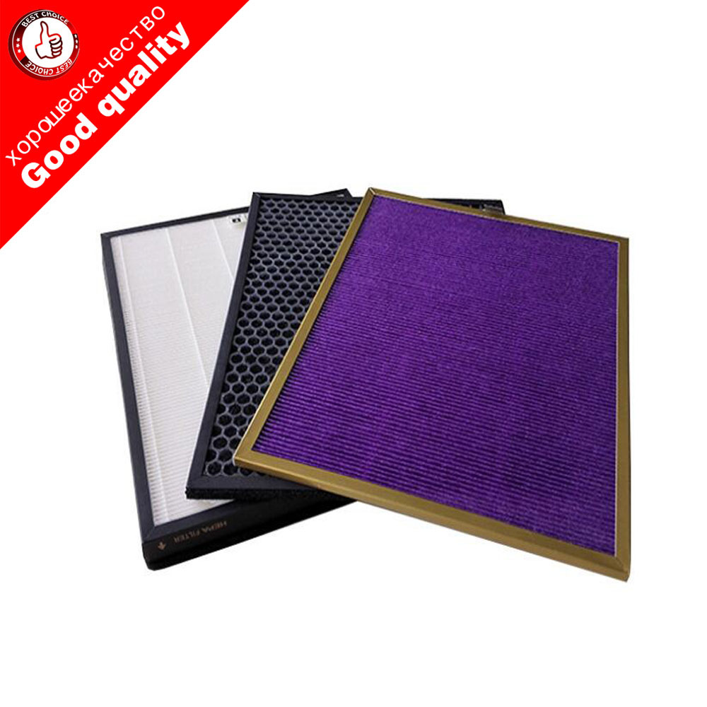 AC4151+AC4153+AC4154 filter kit for Philips AC4372 AC4373 AC4375 air purifier parts HEPA Filters free shipping air purifier parts hepadust collection filter ac4104 ac4103 for philips ac4025 ac4026 air purifier