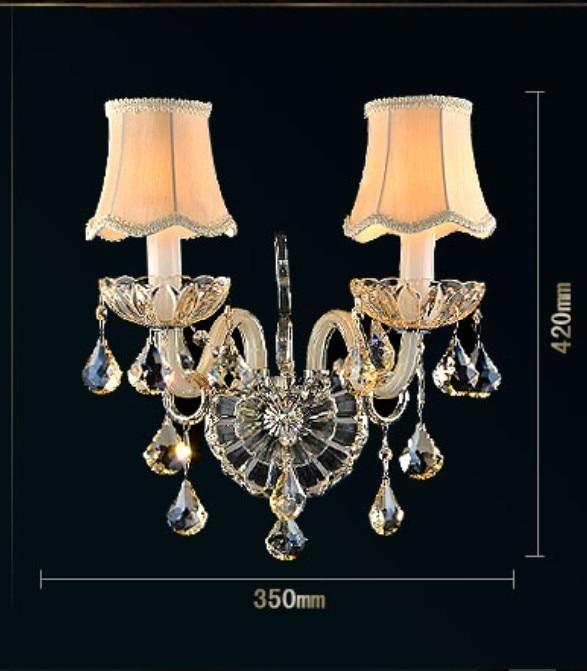 Lâmpadas de Parede de cristal Material do Corpo : Cristal