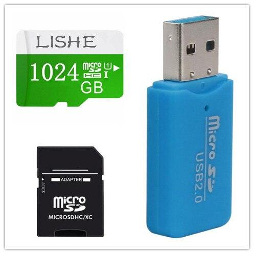 Grande capacità Micro SD Card da 256 gb 128 gb 64 gb 32 gb UHS-I Flash 4 k Video Scheda di Memoria 512 gb 16 gb 1 tb SDXC U1 Carte Carta di TF Class10