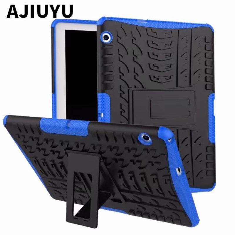 For Huawei MediaPad T3 10 Case 2 in 1 Rugged Armor TPU+ PC Capas For Honor Play Pad 2 AGS-W09 AGS-L09 AGS-L09 9.6