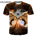 Mens 3D T Shirt Animal Skull Printed America And Europe Style Tshirts Homme Fashion Casual Harajuku Hiphop Short Sleeve Tops Tee