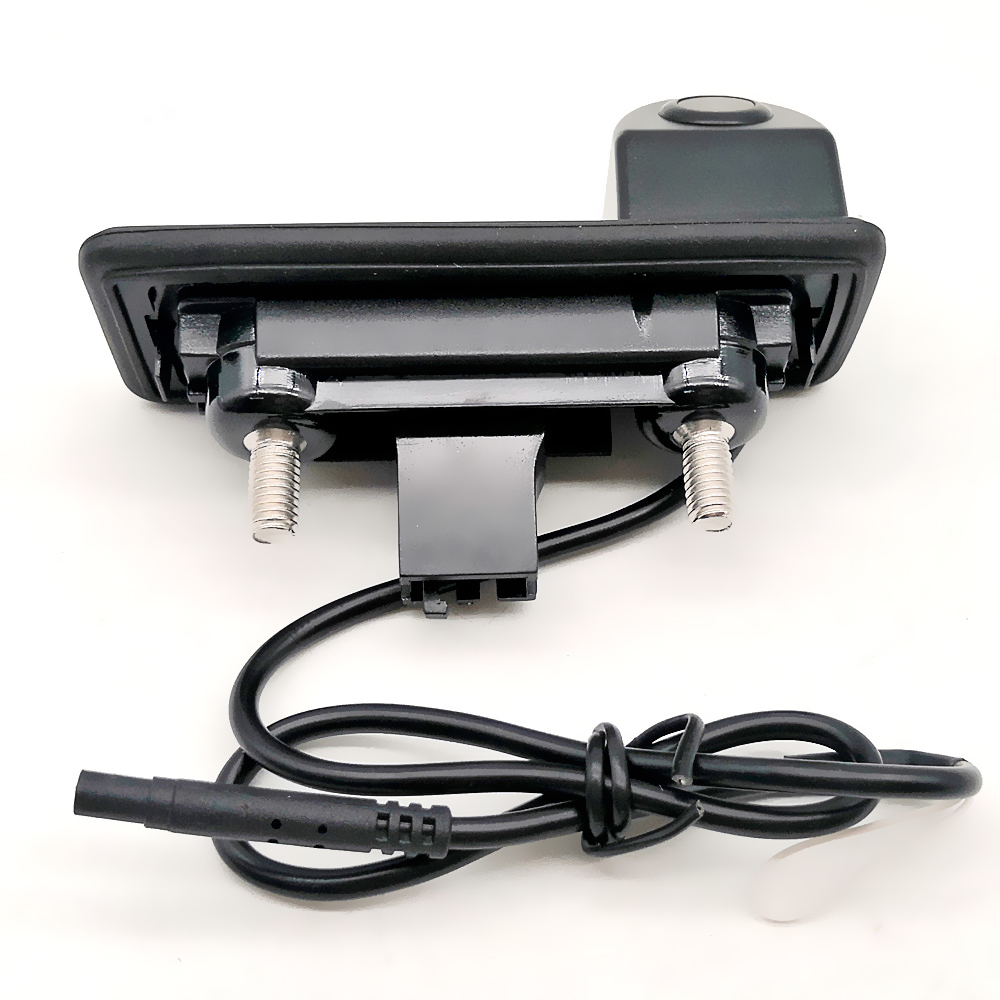 Image 4 - Auto Trunk Handle Car Rear View Reverse Backup Parking Camera For Skoda Octavia Fabia Superb Rapid Spaceback/Audi A1 A4L A6L Q3-in Vehicle Camera from Automobiles & Motorcycles