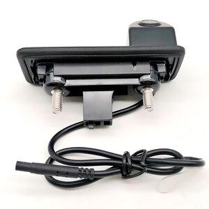 Image 4 - Auto Trunk Handle Car Rear View Reverse Backup Parking Camera For Skoda Octavia Fabia Superb Rapid Spaceback/Audi A1 A4L A6L Q3