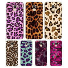 Silicone Phone Case Glitter leopard Fashion for Samsung Galaxy j8 j7 j6 j5 j4 j3 Plus Prime 2018 2017 2016 Matte Cover