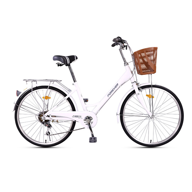 Bicycle Adult 6-speed 24-inch Female Student Bicycle Lady Commuter Adult Ordinary