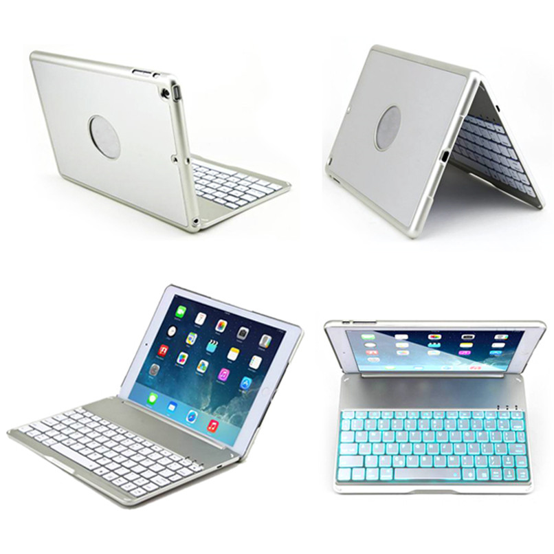 Newest Best Price!NoteKee F8S backlit illuminate wireless bluetooth keyboard for ipad air   H5T4 best price 5pin cable for outdoor printer