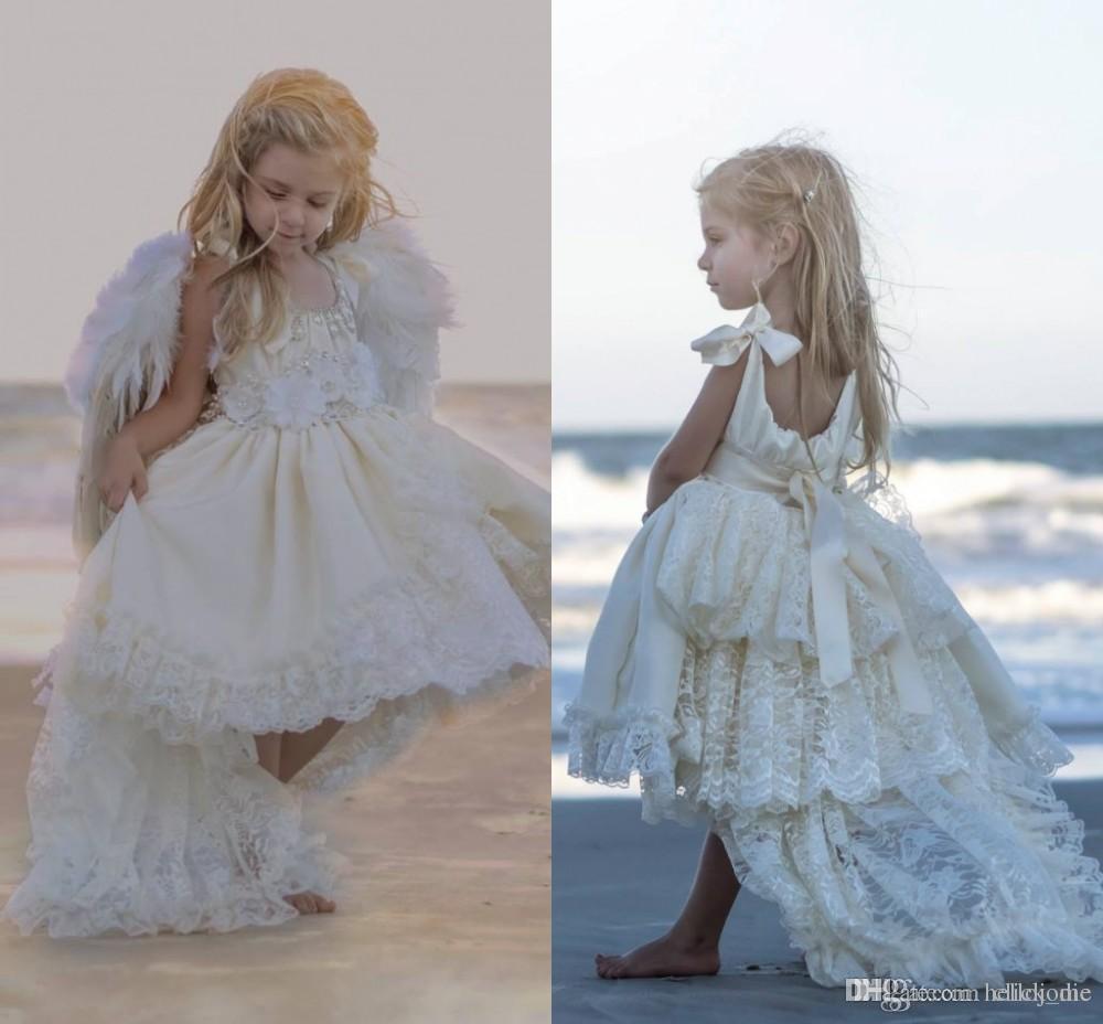 Flower Girl Beach Wedding Dresses Aliexpress.com_Wedding ...