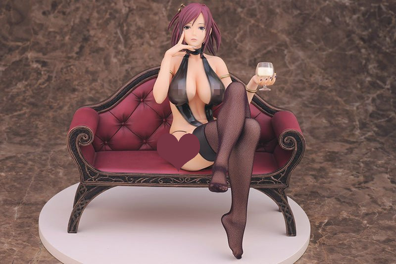 New Mamiya Marie Empress Starless Lewdness Decadence Beauty Big Chest with Goblet Skytube 1/6 Super Sexy 19CM Action Figure