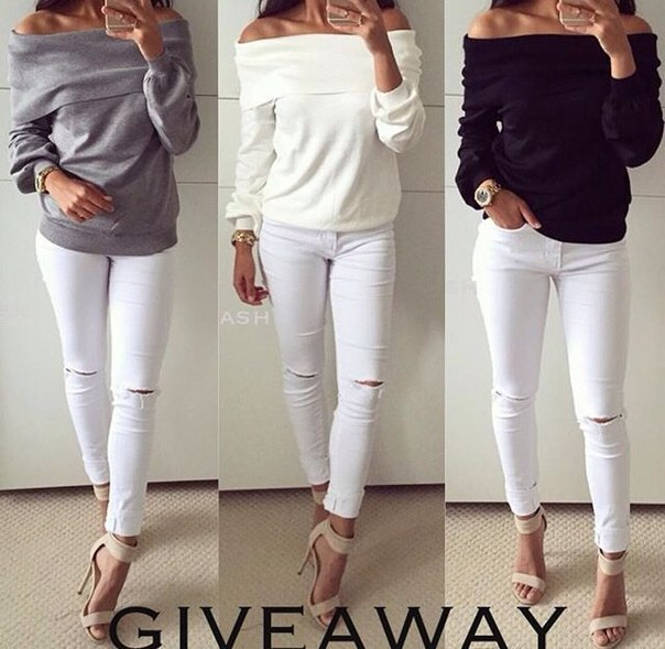 Sweatshirt 2016 New Fashion Women Off Shoulder Loose Tops Jumper Pullover Ladies Long Sleeve Casual Plain Hoodi Moletom