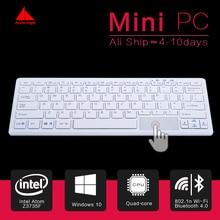 Новый Мини-Пк Quad Core Mini PC Windows 10 Компьютер Клавиатура мышь 1.33 ГГц Intel atom Z8300 HDMI TV Box WiFi/RJ45 Micro ПК