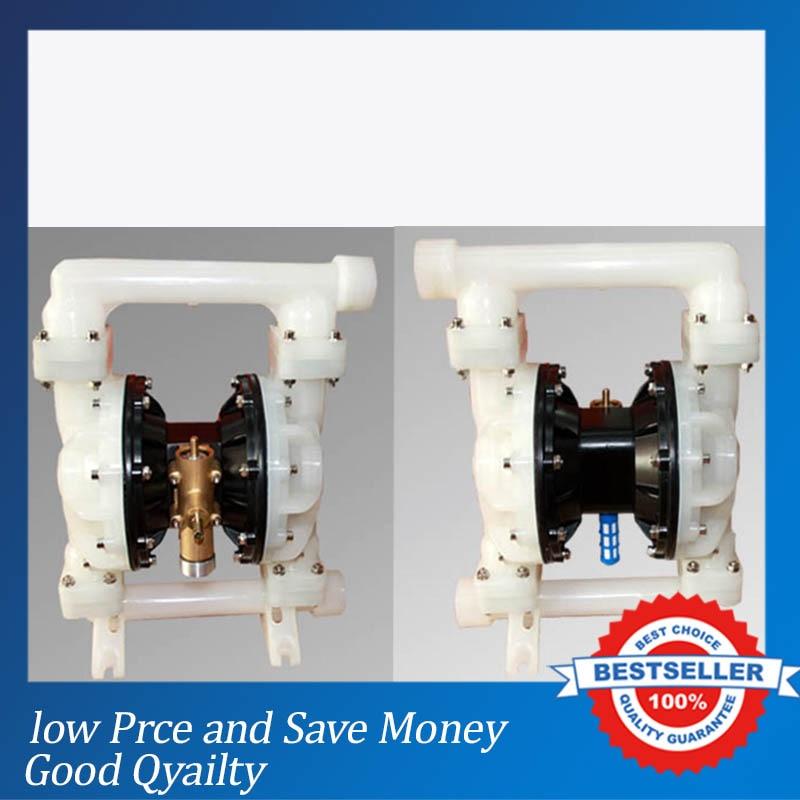 QBY-40 Plastic Pneumatic Diaphragm Pump 0-8m3/h Air Membrane Pump 2017 china made qby 40 plastic diaphragm pump 1 2 with f46 diaphragm