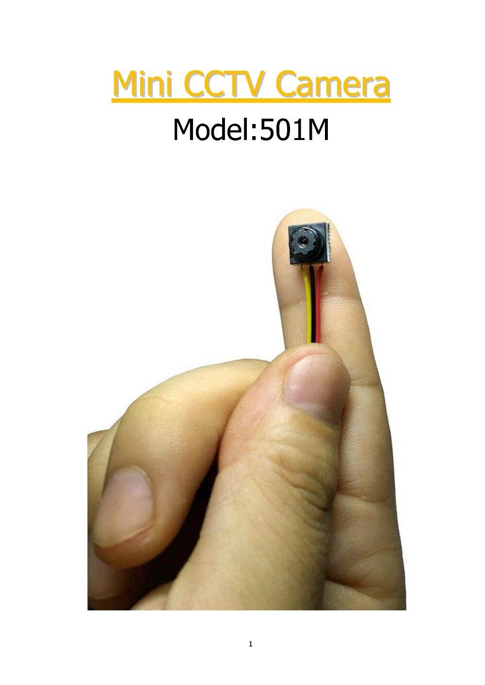 imágenes para Envío Libre HD 800TVL 8*8 MM mini analógico módulo diy cctv no de la cámara WIFI IP para Vigilancia de la Seguridad Casera de vídeo cámara