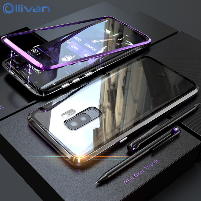 Luxury Tempered Glass Phone Cases For Samsung Galaxy S8