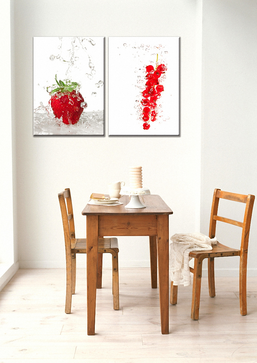 Aliexpress.com : Acquista Moderna Frutta Fresca Immagine Pittura ...