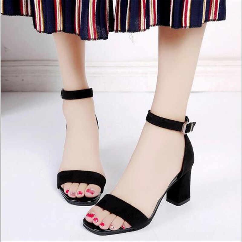 Sıcak Bayan Sandalias Femeninas Yüksek topuklu Sonbahar Akın sivri Sandalet Yüksek topuklu Kadın Yaz Ayakkabı Kadın Sandalet Mujer