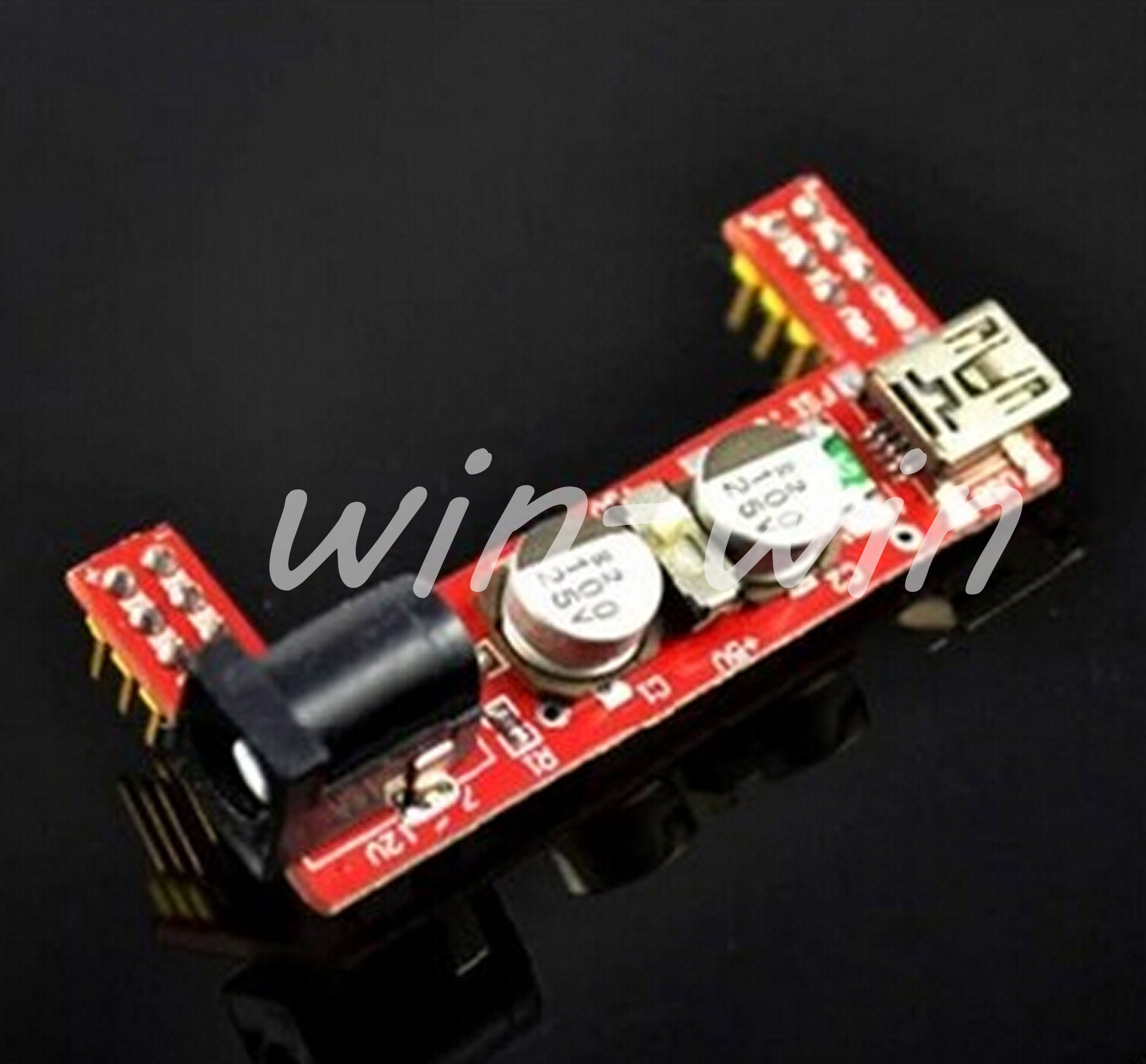 10PCS Mini USB MB102 Breadboard Power Supply Module 3.3V 5V F Solderless Arduino