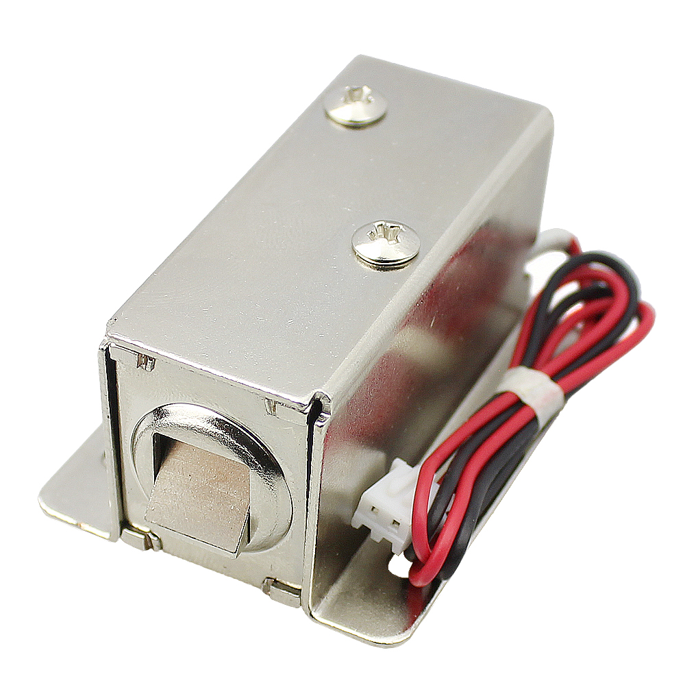 Power off unlock DC12V 0.4A small electric lock Mini electromagnetic lock electric lock door solenoid electronic lockPower off unlock DC12V 0.4A small electric lock Mini electromagnetic lock electric lock door solenoid electronic lock