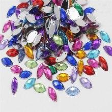 36 шт./лот 9*20 мм Crystal Silver База шить на горный хрусталь Бусины Вышивание на кристалл Камни шить-на два отверстия ювелирные 003018031