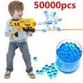 50000 UNIDS Orbeez Paintball Bala Bala Suave Pistola Pistola de Agua de Colores de Cristal Accesorios de Juguete Con Código de Seguimiento