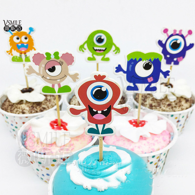24 Stucke Coole Monster Prinzessin Prinz Jungen Madchen Cartoon
