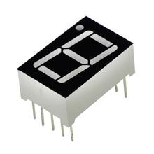 "0.56inch 1bit Common Cathode Digital Tube Red LED Digit Display 7 Segment 0.5inch 0.5 0.56 Inch 0.56"" 0.56in."