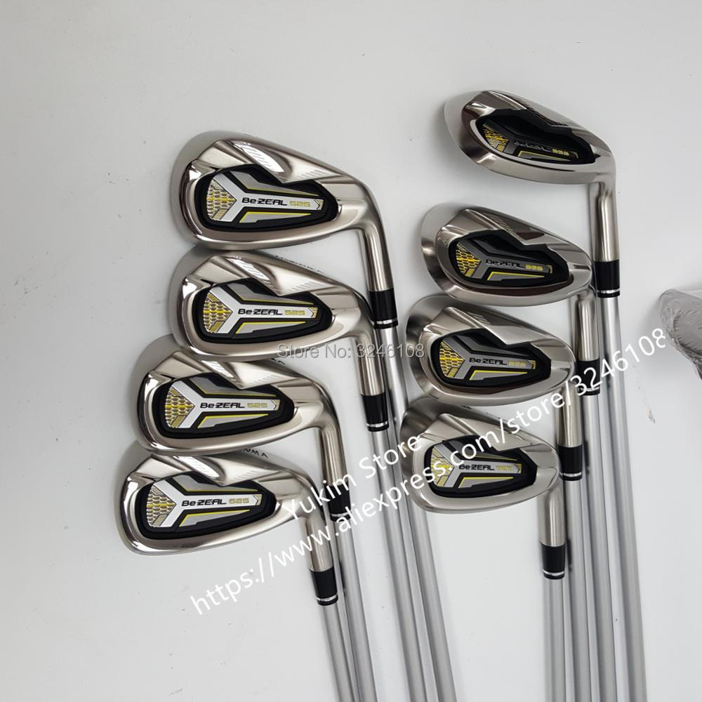 Golf irons HONMA BEZEAL 525 Golf clubs with Graphite Golf shaft R or S flex  8 piece  Free shipping