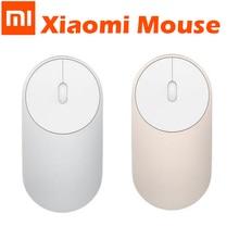 Original Xiaomi รีโมทคอนโทรล mouses แบบพกพาไร้สาย Mi Bluetooth 4.0 WiFi 2.4GHz สมาร์ท Mouses Xiaomi สีขาว Mijia Mi