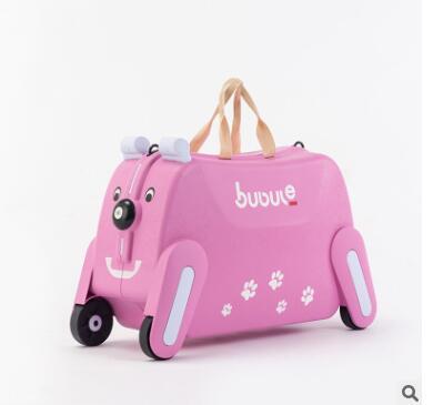 Fahrt auf Koffer für kinder Tragen auf Roll gepäck koffer reiten trolley tasche für kinder wheeled travel gepäck für kinder-in Trolleys aus Gepäck & Taschen bei  Gruppe 1