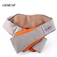 Car Home Neck Massager U Shape Electrical Shiatsu Shoulder Back Body Massagers Infrared 3D Massagem Infrared